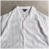 1990s レーヨンブレンドオープンカラーシャツ