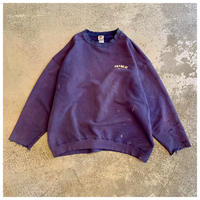 "1990s ""NIKE"" ダメージスウェットシャツ USA製"