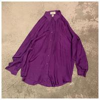 1990s オーバーサイズシルクシャツ