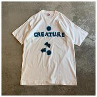 1990s KIKI SMITH 'CREATURE' プリントTシャツ USA製 デッドストック