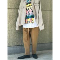 90年代 オーバーサイズリネンオープンカラーシャツ