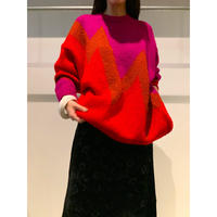 80年代 モヘブレンドニットセーター