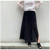 1990s シアーマキシ丈スカート