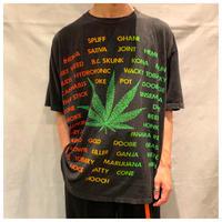 """1990s """"Marijuana""""プリントTシャツ"""