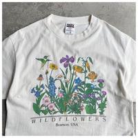 """1990s """"WILD FLOWERS"""" プリントTシャツ"""