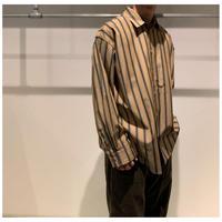 Edwina Horl 2020 S/S オーバーサイズストライプシャツ