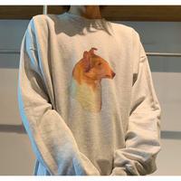 00年代 プリントスウェットシャツ