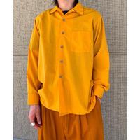 """70年代 """"ARROW"""" ポリブレンドオープンカラーシャツ"""