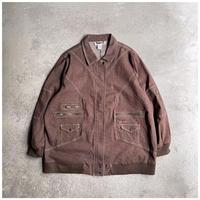 1990s オーバーサイズデニムデザインジャケット