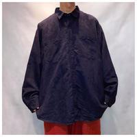 1990s オーバーサイズフェイクスェードシャツ