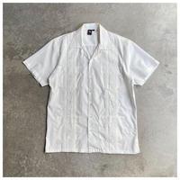 1990s コットンブレンドキューバシャツ