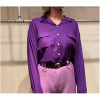 """1990s """"GAP"""" レーヨンオープンカラーシャツ"""