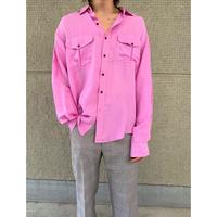 80年代 シルクドレスシャツ