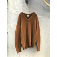 ヴィンテージ カシミアブレンドニットセーター イングランド製