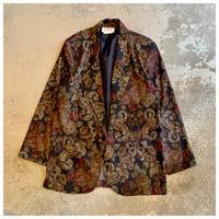1980s 花柄テーラードジャケット USA製