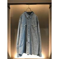"""Ralph Lauren"" western shirt シャンブレー 表記XXL"