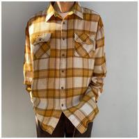 1990s オーバーサイズプレイドシャツ