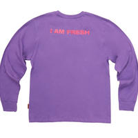 【Fray】I AM FRESH LONG SLEEVE PURPLE
