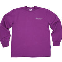 【Fray】FRESH LONG-SLEEVE T SHIRTS PURPLE