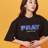 【Fray】FRAY BIG LOGO T-SHIRTS BLACK