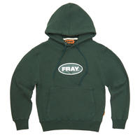 【Fray】BIG LOGO PULLOVER HOODIE GREEN
