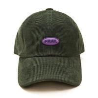 【Fray】FRAY CORDUROY LOGO CAP GREEN