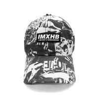 【IMXHB】TORN PICTURES ALL PRINT CAP - O/C