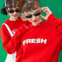 【Fray】FRESH HOODIE RED