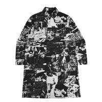 【IMXHB】TORN PICTURES ALL PRINT MAC COAT - O/C