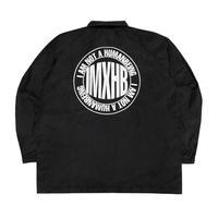 【IMXHB】 IMXHB CIRCLE LOGO COACH JACKET - BLACK