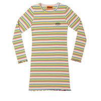 【Fray】FR STRIPE SLIM DRESS Beige Stripe