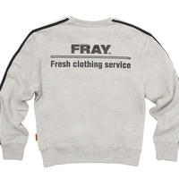 【Fray】FRESH CREWNECK SWEATER GRAY