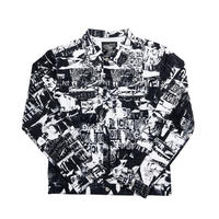 【IMXHB】TORN PICTURES ALL PRINT TRUCKER JACKET - O/C