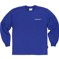 【Fray】FRESH LONG-SLEEVE T SHIRTS COBALT BLUE