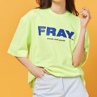 【Fray】FRAY BIG LOGO T-SHIRTS NEON
