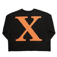 【IMXHB】X LOGO SWEATSHIRTS - BLACK