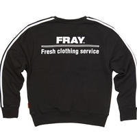【Fray】FRESH CREWNECK SWEATER BLACK