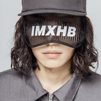 【IMXHB】5 PANEL SNAP BACK - DARK GREY