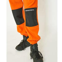 【Fray】CUT FLEECE PANTS  ORANGE