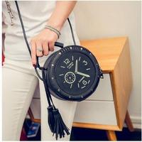3Color 海外ブランド 人気  ショルダーバック 可愛い 「腕時計 バック」レディース 可愛い 安い 上品 キレイ レザー カジュアル モード コーデ ストリート パンク   B-1717