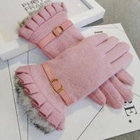 3Color 海外ブランド 人気  雑貨 可愛い  「あったか 手袋 レディース」秋 冬 上品 エレガント キレイ フェミニン コーデ 使いやすい z-104