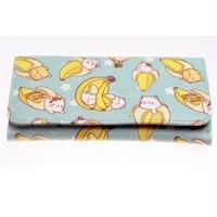 海外ブランド 人気  財布   バナナ ネコ 可愛い 財布 シンプル 使いやすい 上品 カジュアル フェミニン お出かけ 旅行 サブ