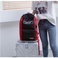 5Collar 海外ブランド バックパック スタイリッシュ 旅行 ロゴ カッコイイ 旅 学生 レディース 女の子 塾 海外輸入品