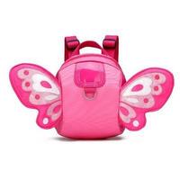 4Collar 海外 ブランド 人気  バックパック キッズ リュック 可愛い 蝶 ナイロン 軽量 軽い お出かけ 羽