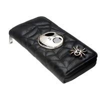 海外 ブランド 人気 長財布 財布 レディース メンズ ジャック ナイトメア キャラクター ディズニー 黒 おしゃれ レザー シンプル カッコい 使いやすい ミステリアス