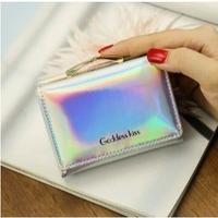 4Collar 海外 ブランド 人気  夏の可愛い 財布 おしゃれ 折りたたみ 可愛い 夏アイテム 折りたたみ シンプル キラキラ インスタ映え キレイな財布 B1213