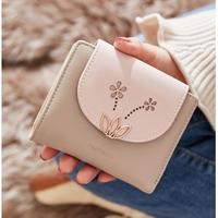 6Color 海外ブランド 人気  財布  二つ折り 可愛い 花柄 ウオレット 可愛い おしゃれ 安い カジュアル コンパクト フェミニン ゴールド お出かけ ショッピング 使いやすい レディース