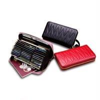 6Color 海外ブランド 人気  カードケース 大容量 カードホルダー 財布 レディース 可愛い 安い 上品 キレイ レザー カジュアル モード コーデ ストリート パンク   W-  122