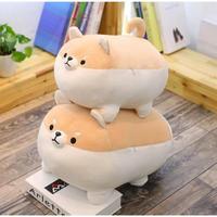 3 Color 海外 ブランド 人気 柴犬 ソフト ぬいぐるみ (50cm)サイズ 可愛い クッション 枕 抱き枕 犬 癒し リラックス ふわふわ 癒しグッズ クッション