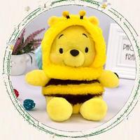 海外 ブランド 人気 クマのプーさん 人形 ぬいぐるみ30cm ぬいぐるみ旅行 キャラクター クマ 着ぐるみ 可愛い 蜂 女の子 プレゼント ギフト